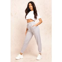 Womens The Basic Loopback Jogger - grey - 14, Grey