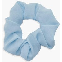 Womens Neon Scrunchie - blue - One Size, Blue