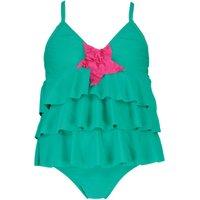 Mermaid Tankini Set - green