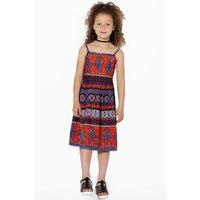 Boho Summer Dress - multi