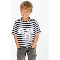 Striped New York City T Shirt - multi