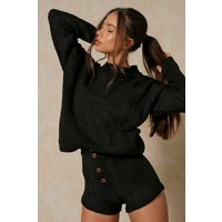 Cable Knit Knicker Shorts Co-ord