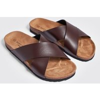 Double Strap Footbed Sandal