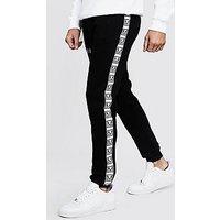 Pantalones de correr skinny con cinta