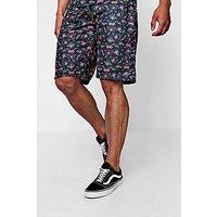 Conjunto de pantalones cortos de punto