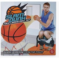 Dunk Toilet Basketball - clear