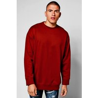 Sweater - burgundy