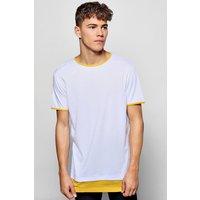 Layer Ringer T-Shirt - yellow