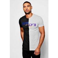 Brooklyn Print T-Shirt - black