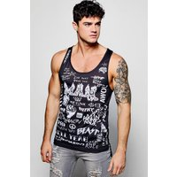 Racer Back Vest - black