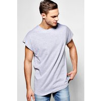 Sleeve T-Shirt - grey