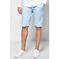 Stretch Chino Shorts - pale blue