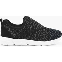Slip On Runner Trainer - black