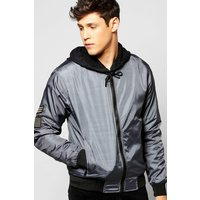 Bomber - charcoal