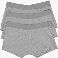 Pack Plain Grey Trunks - grey marl