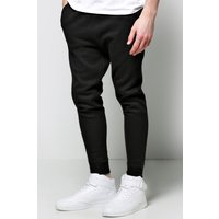 Drop Crotch Joggers - black
