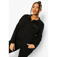 Womens Plus Woman Sport Active Jacket - Black - 26, Black