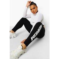 Womens Plus Woman Print Leggings - Black - 28, Black