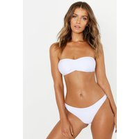 Womens Mix & Match Bandeau Top - white - 6, White