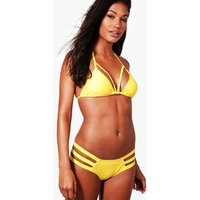 Mix & Match Strappy Triangle Top - yellow