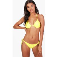Mix and Match Triangle Top - yellow