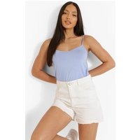 Womens Tall Strappy Cami Top - Blue - 14, Blue