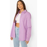 Womens Tall Woven Shirt - Purple - 12, Purple