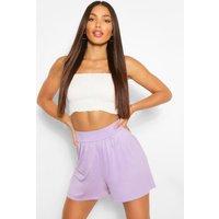 Womens Tall Basic Flippy Shorts - Purple - 6, Purple