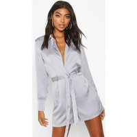 Womens Tall Blazer Playsuit - blue - 6, Blue