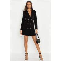 Womens Tall Blazer Dress - Black - 14, Black
