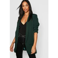 Womens Tall Tailored Blazer - green - 12, Green