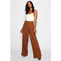 Tall Wide Leg Pleated Trousers