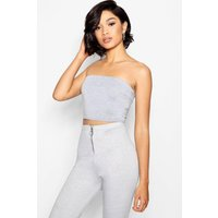 Womens Tall Jersey Bandeau - grey - 16, Grey