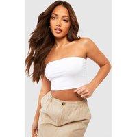 Womens Tall Jersey Bandeau - white - 12, White