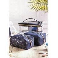3 Piece Toiletry Bag Set
