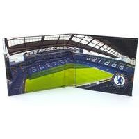 Football Club Stadium Leather Wallet - Chelsea
