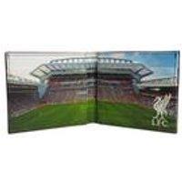 Football Club Stadium Leather Wallet - Liverpool