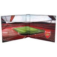 Football Club Stadium Leather Wallet - Arsenal