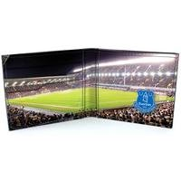 Football Club Stadium Leather Wallet - Everton