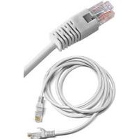 Grey Straight Through RJ45 Ethernet Network Cable - 5M