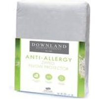 Downland Anti Allergy Zip Pillow Protector - Pair