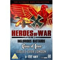 Heroes Of War: Volume 3 - 3 DVD Set