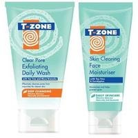 Clear Pore Exfoliating Wash and Face Moisturiser
