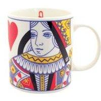 Queen Of Hearts Bone China Mug