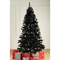 Black Deluxe Unlit Christmas Tree