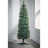 Frosted Deluxe Unlit Christmas Tree