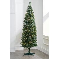Frosted Deluxe Pre-Lit Tree with Warm White LEDs