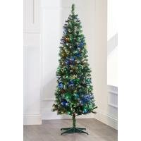 Deluxe Frosted Pre-Lit Tree with Multi LEDs