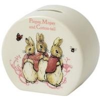Beatrix Potter Flopsy Bunnies Money Bank