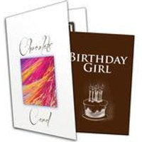 Birthday Girl/Boy Chocolate Greetings Card